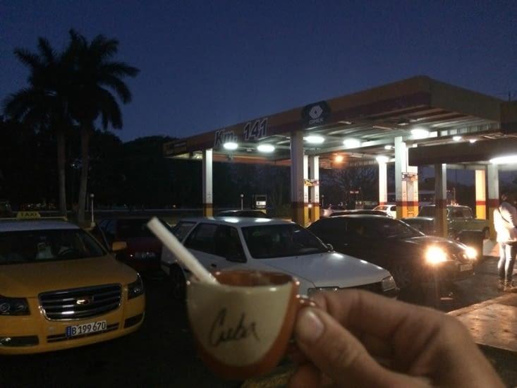 Pause-café au Km 141