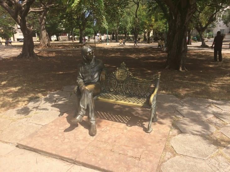 El monumento de John Lennon