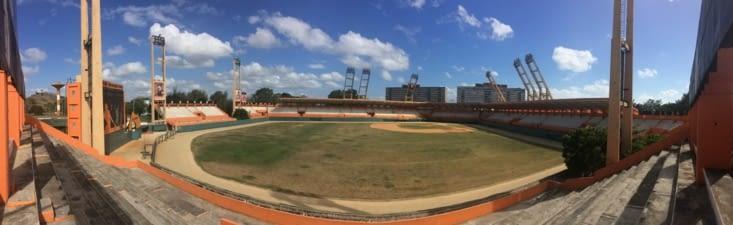 Le stade de baseball de Santa Clara