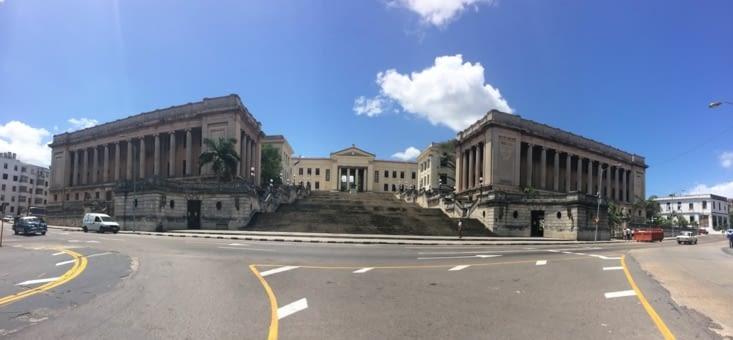 Vue panoramique sur l'Université de La Havane
