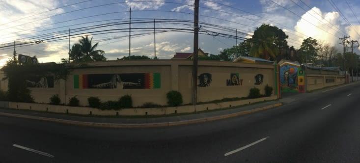 Le musée Bob Marley vu de l'extérieur