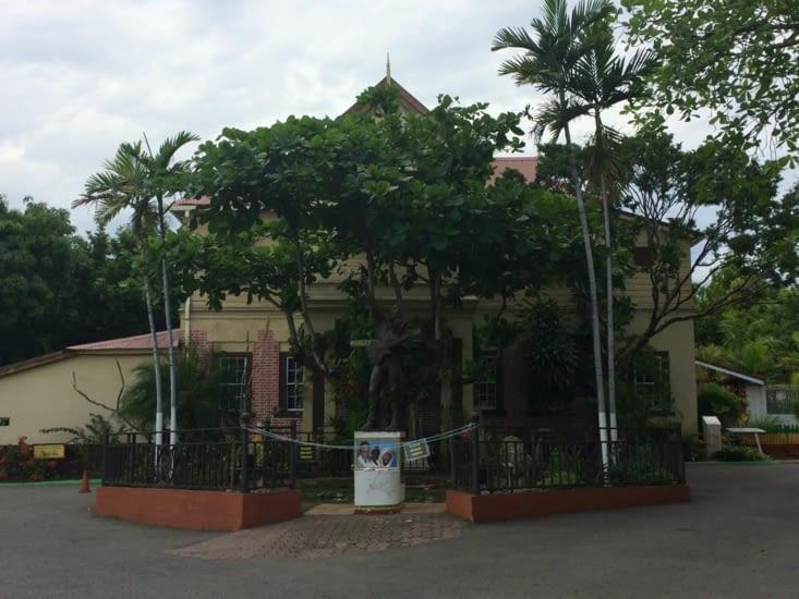 L'entrée du musée Bob Marley