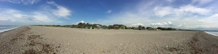 Vue panoramique sur la plage de Port Royal