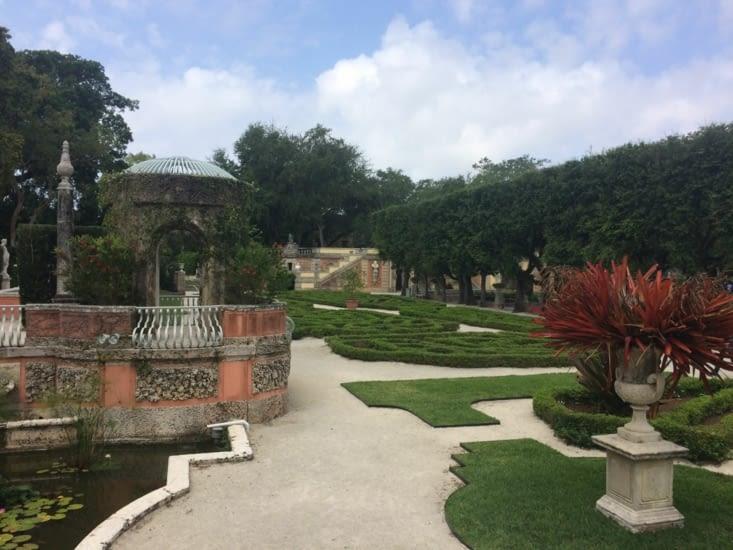 Les jardins de la villa Vizcaya