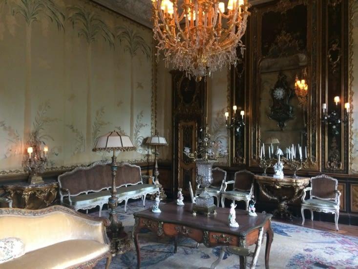 Une salle de réception de la villa Vizcaya