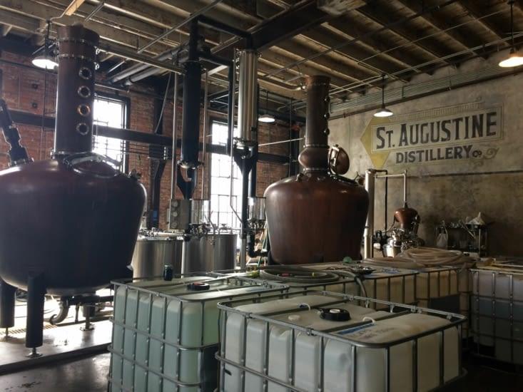 La distillerie St. Augustine