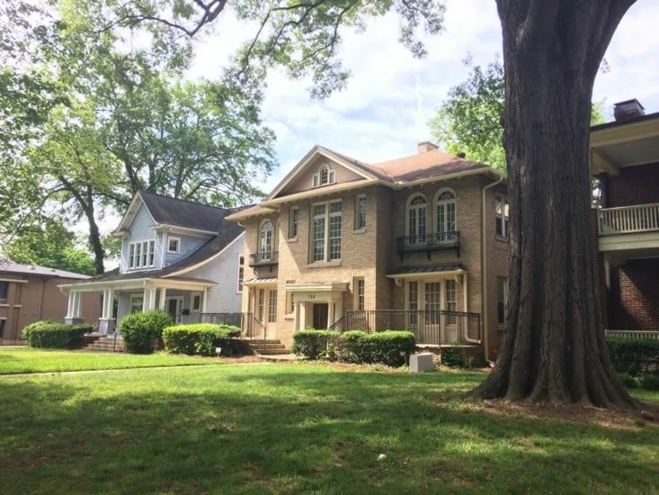 Belles maisons sur East Boulevard