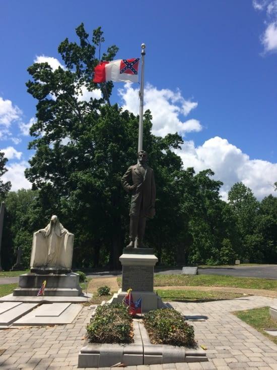 La sépulture de Jefferson Davis