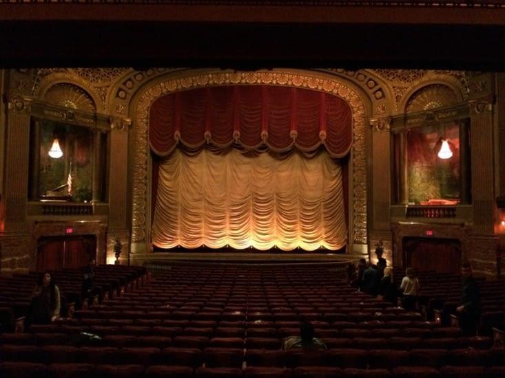 L'intérieur du Byrd Theatre