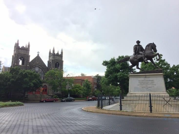 General James Ewell Brown Stuart Statue