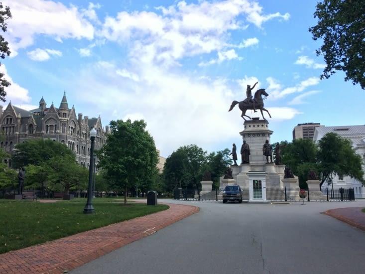 Statue de George Washington