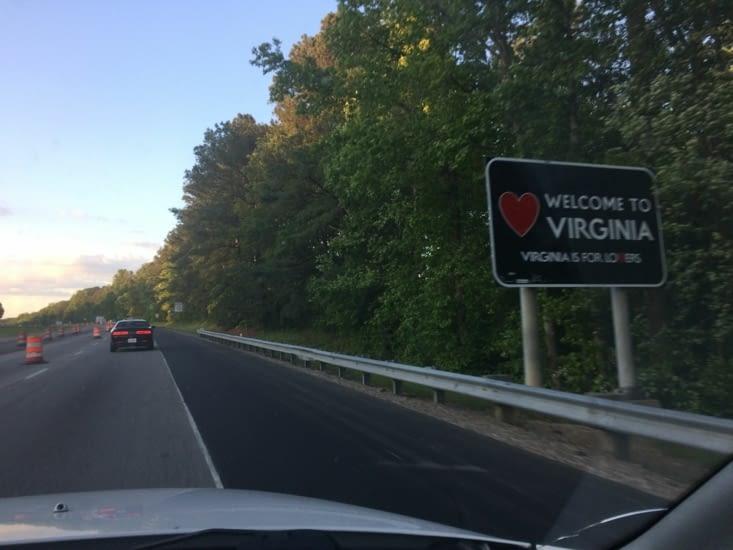 """""""Virginia is for Lovers"""", le slogan touristique de la Virginie"""