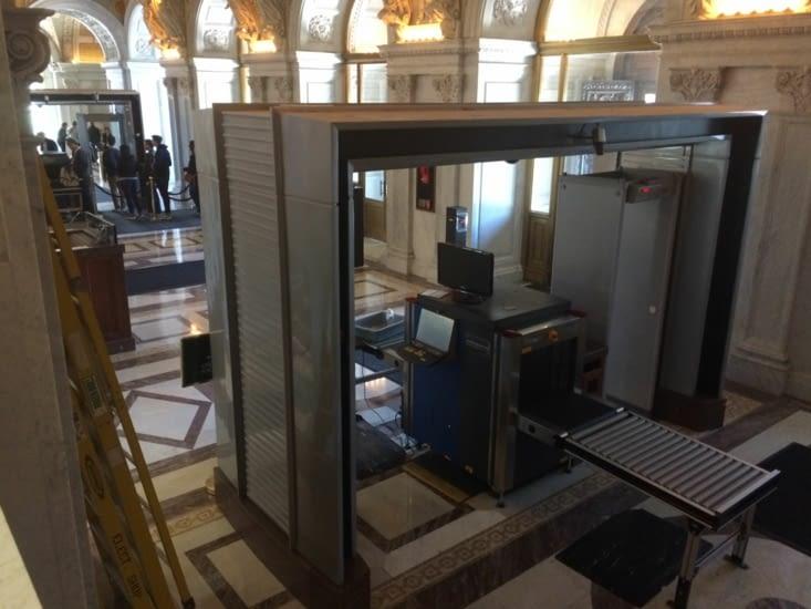 À l'intérieur de la bibliothèque du Congrès
