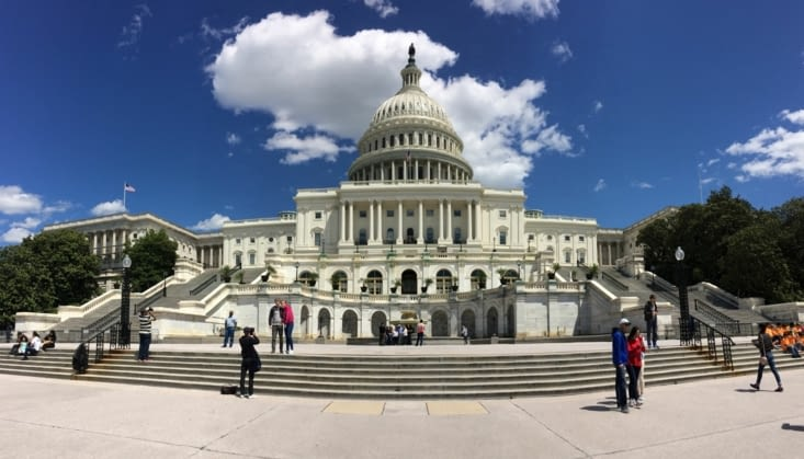 Façade ouest du Capitole