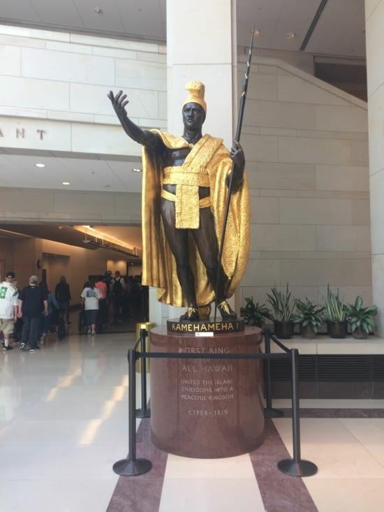 La statue de Kamehameha