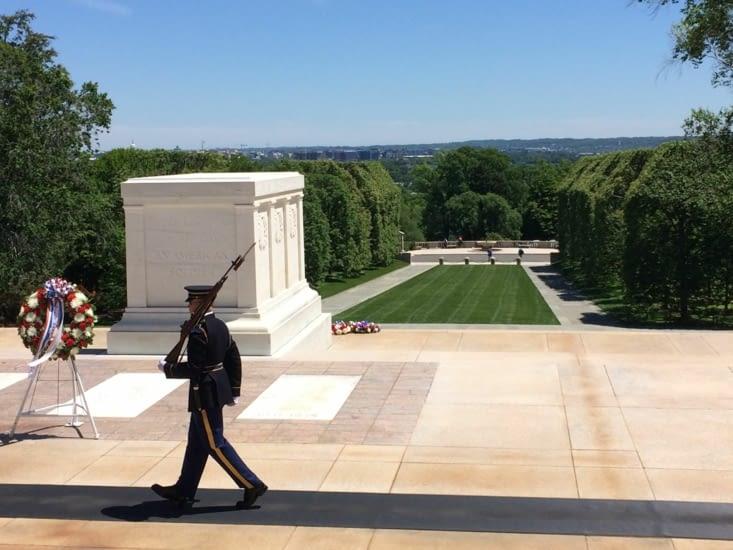 La tombe des Soldats inconnus