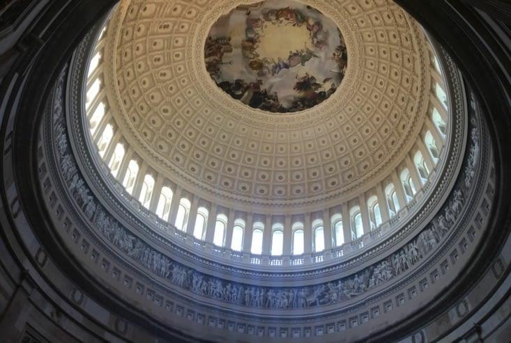 Sous le dôme du Capitole
