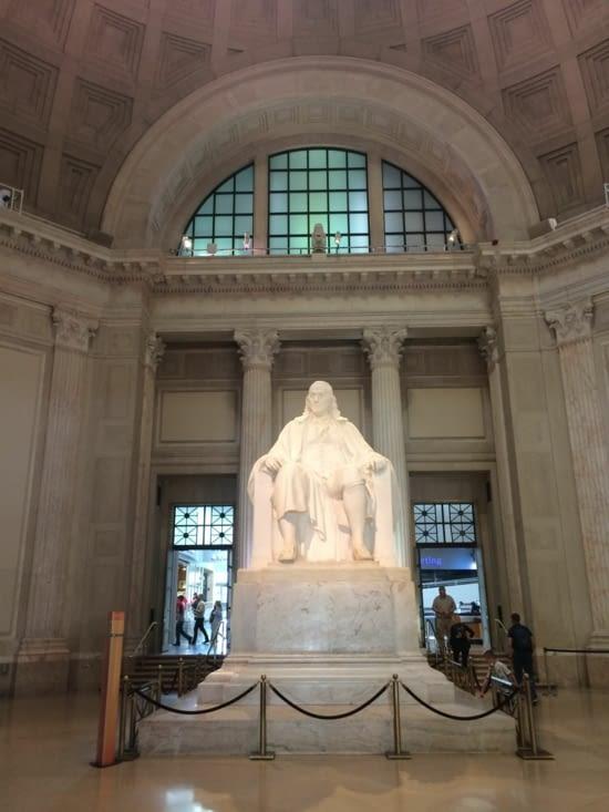 Statue de Benjamin Franklin