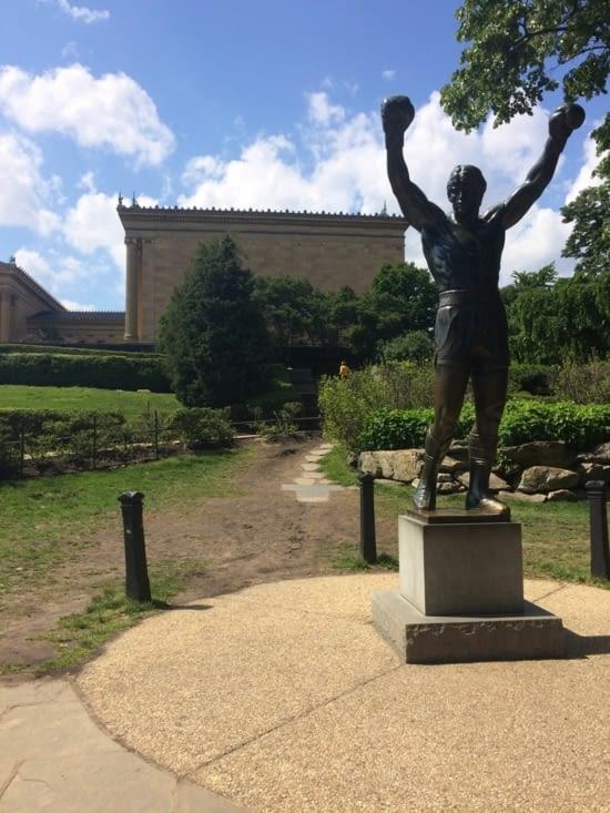 Statue de Rocky Balboa