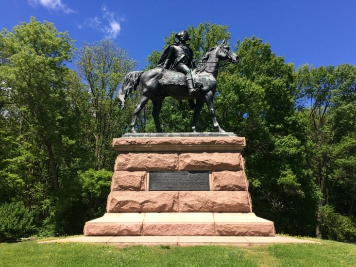 Statue du Général Wayne