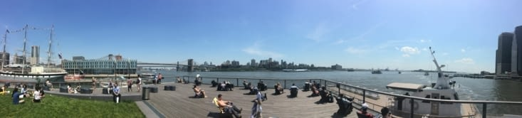 Vue panoramique depuis le Pier 15