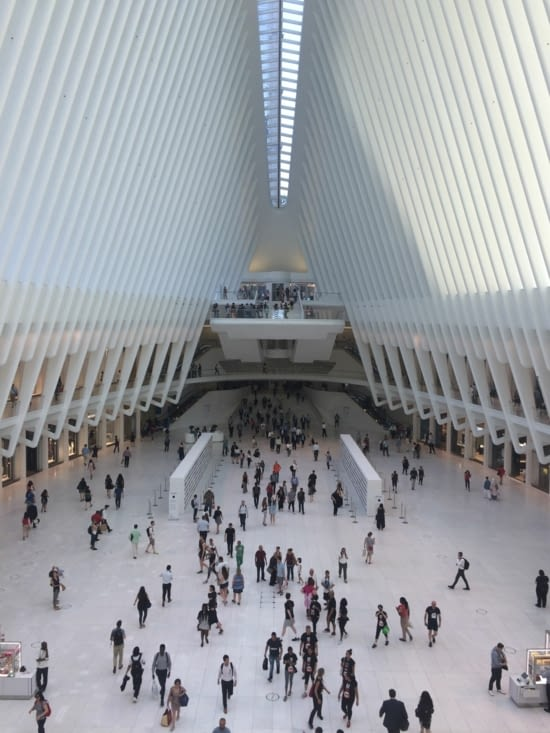 World Trade Center Metro Station - Intérieur