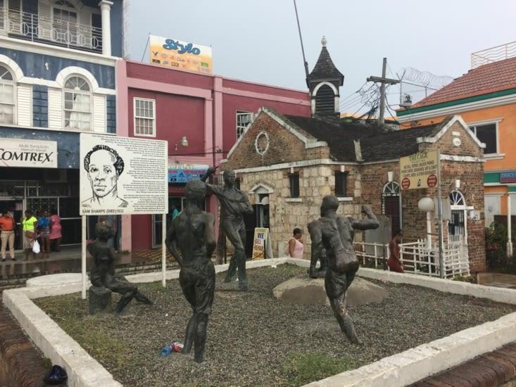 Monument à la gloire de Sam Sharpe