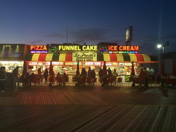 Atlantic City by night