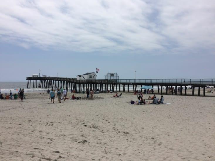 La plage d'Ocean City