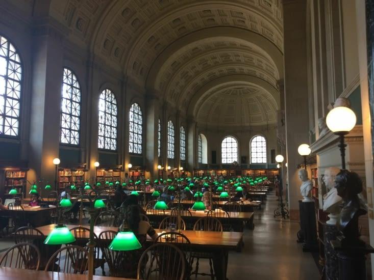 Bibliothèque publique de Boston