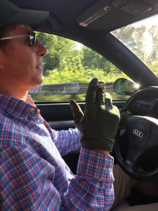 L'un de mes chauffeurs, en mode « Drive »