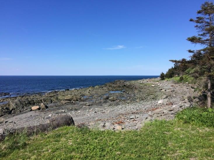 La côte nord de la Gaspésie