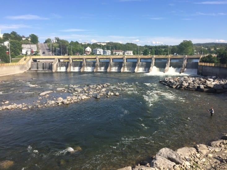 La rivière à saumons de Matane
