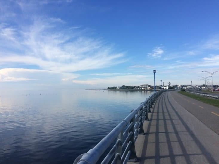 Le front de mer de Rimouski