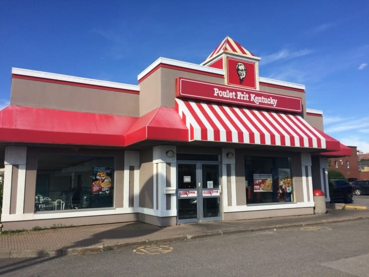 PFK : Poulet Frit du Kentucky - Rimouski