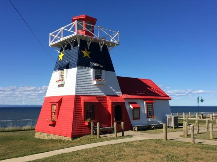 Le phare de Grande Anse