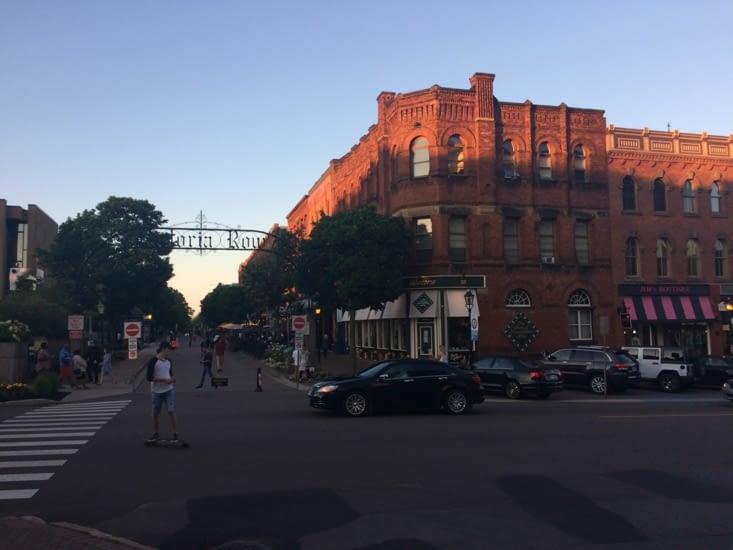 Entrée de la rue commerçante Richmond Street