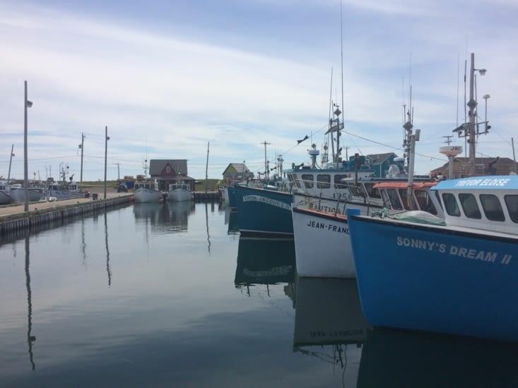 Le Brise-Lame, le port de pêche de Grande-Entrée