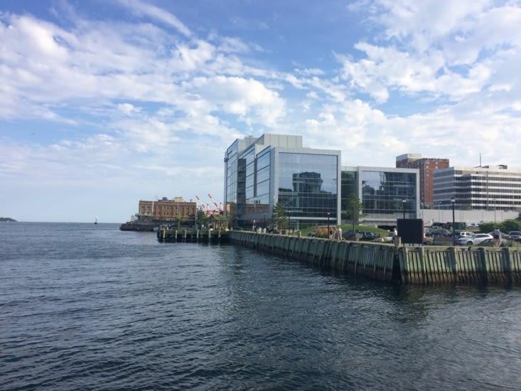 Le front de mer d'Halifax