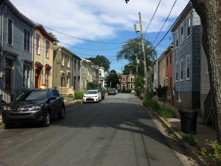Les maisons colorées d'Halifax