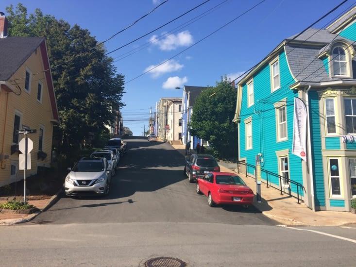 Lunenburg, c'est coloré, et ça grimpe !