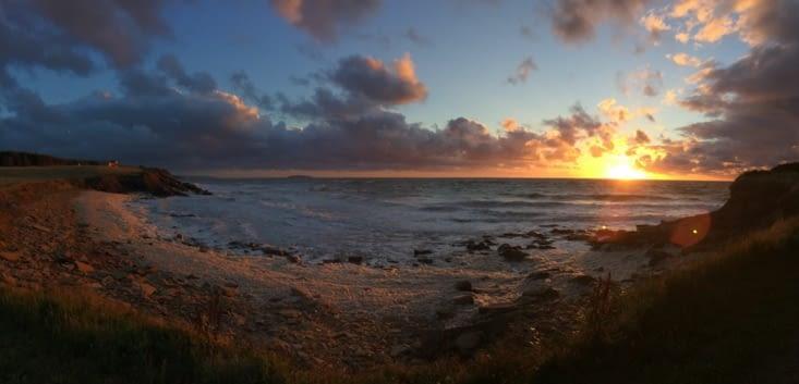 Coucher de soleil sur le Cap-Breton