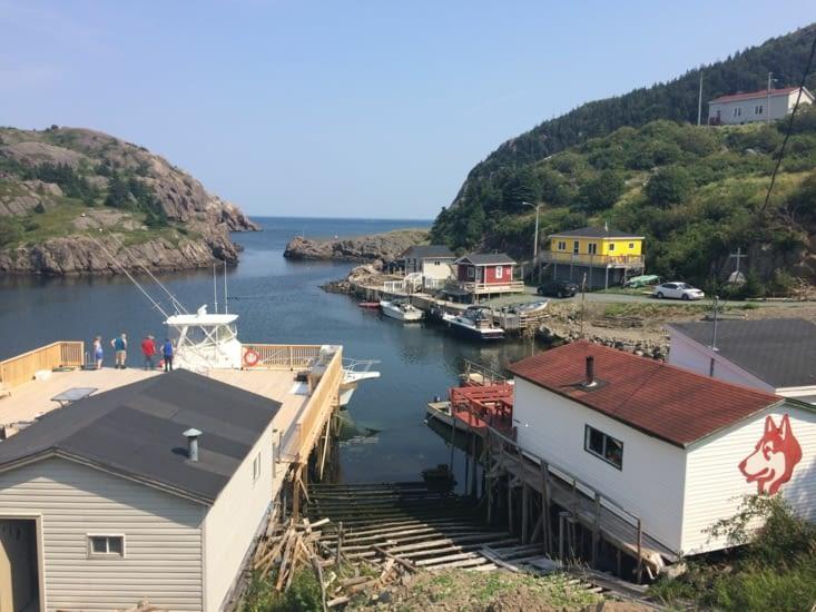 L'entrée du port
