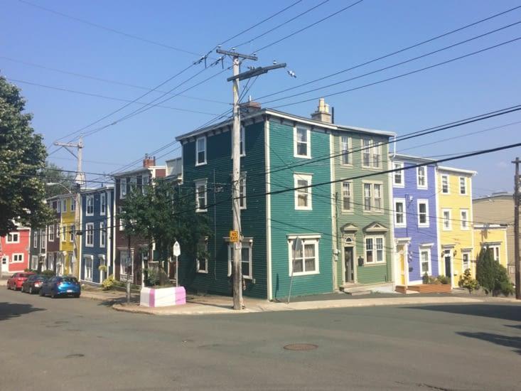 Les couleurs de St. John's