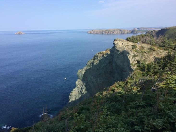 Vue depuis le phare de Long Point