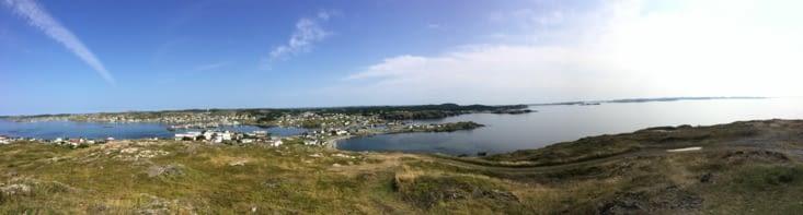 Vue panoramique sur Twillingate