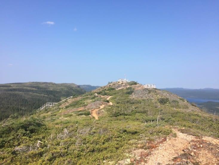 Sommet du Alexander Murray Hiking Trail