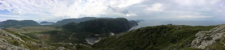 Vue panoramique depuis le sommet
