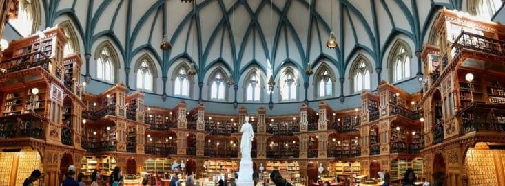 La Bibliothèque du Parlement