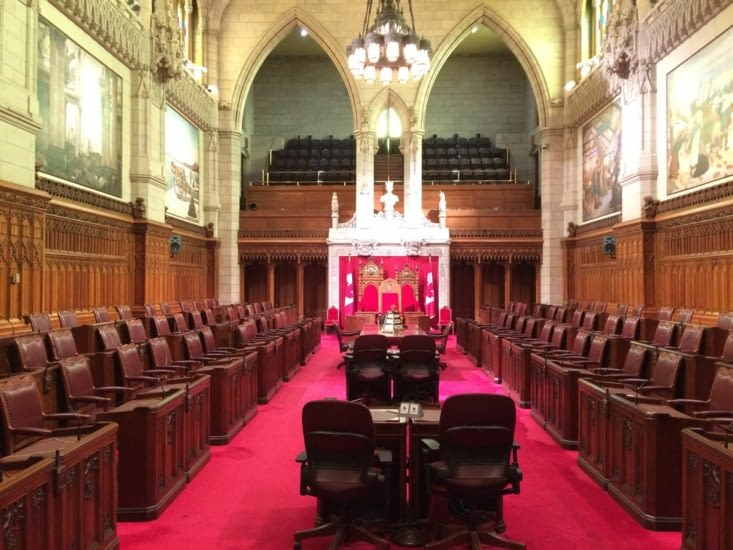 La Chambre du Sénat